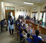 The Akriti International school bhopal small childerns and teachers in visited the academy 04/09/18