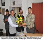 Honble Mr. Jitu Patwari Minister Higher Education Sports and Youth Welfare and